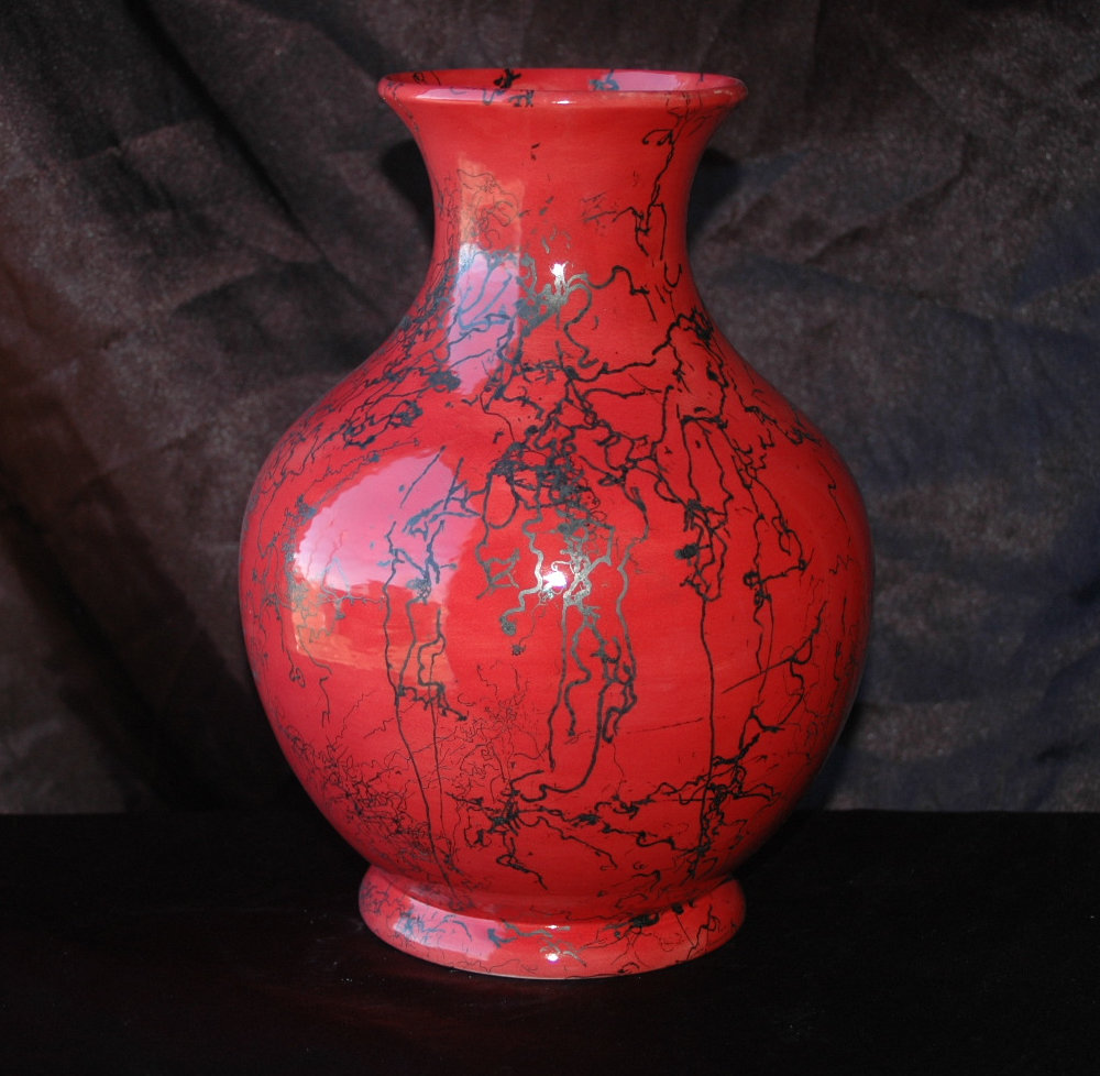 Horse hair pottery madstone raku red horse hair leisure vase reviewsmspy
