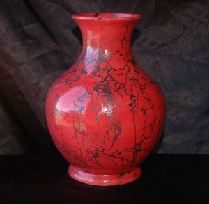 Red Horse Hair Leisure Vase