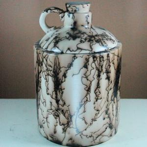 Small Horse Hair Jug Jar