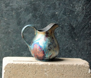 Small Raku Pitcher