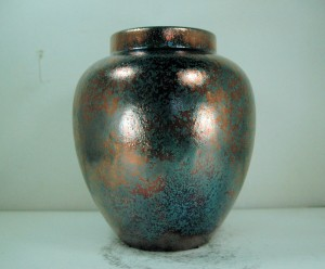 Medium Sized Raku Vase or Jar