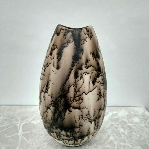 Egg Shaped Horse Hair Vase